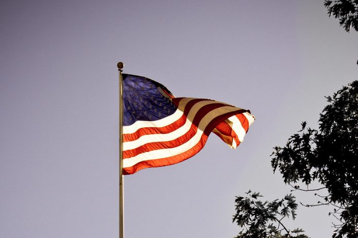 American Flag New View