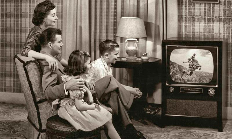 family and tv 50's docu