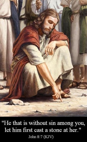 John 8 7