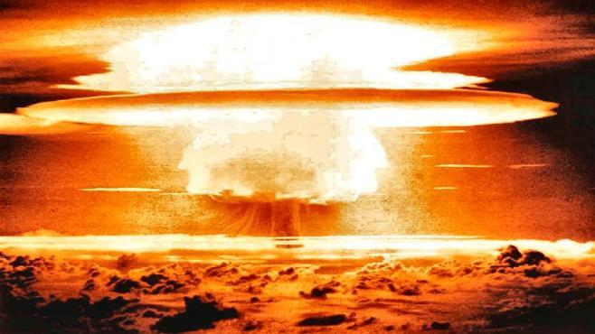 Nuclear bomb blast docu