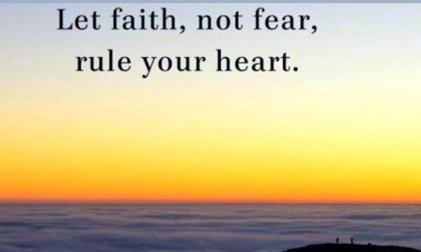 Faith in your heart sm print