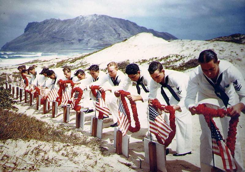 Pearl Harbor honoring the dead docu