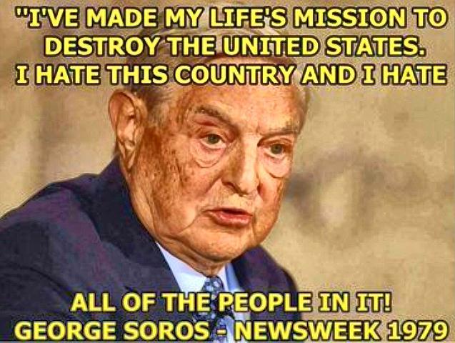Soros devils own web