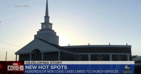 Leftist Protests, More Sacred Than ChurchServices