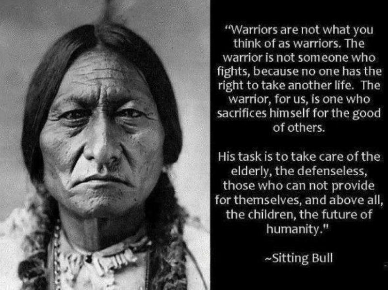 Sitting Bull Saying docu