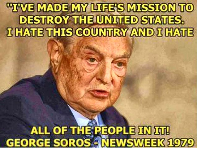 Soros devils own web