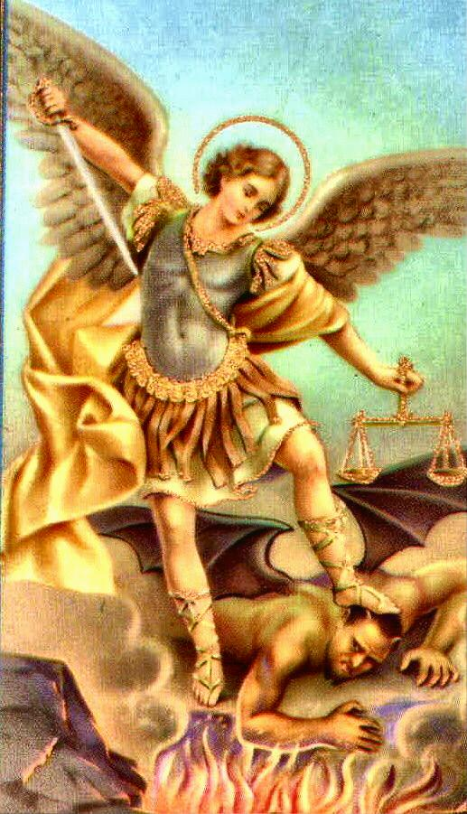 St. Michael: The Sure Remedy to Trump SocialistAnarchy