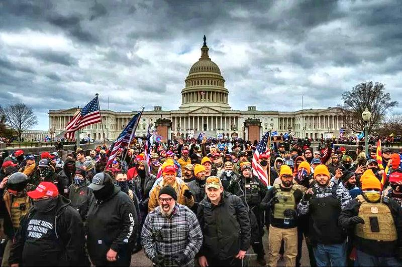 Trump Rally Supporters Storm U.S. Capitol Building. Infiltrated Antifa Supporters Among ViolentProtesters.