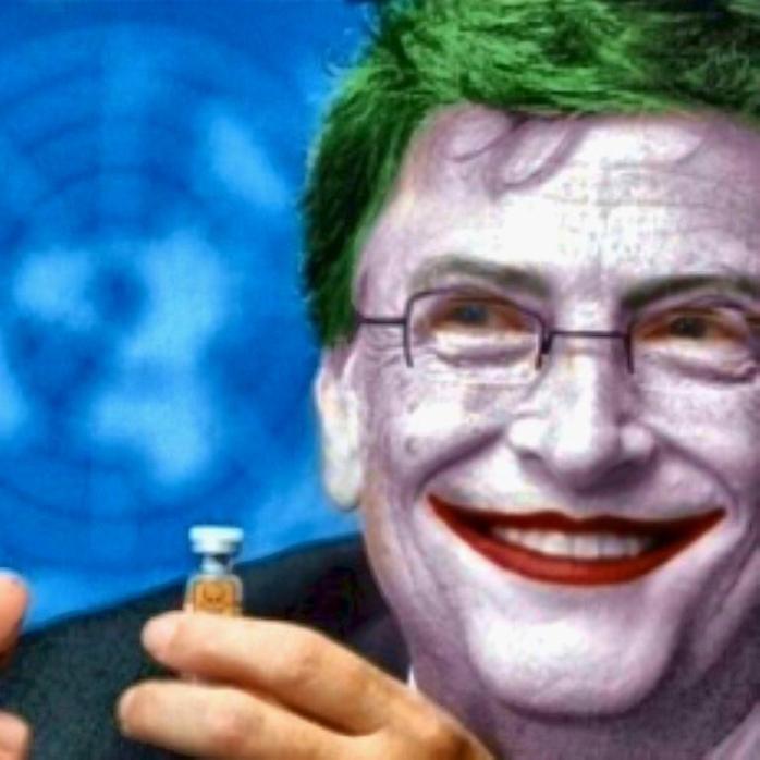 Gates the Joker sm print