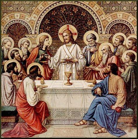 Holy Eucharist with jesus