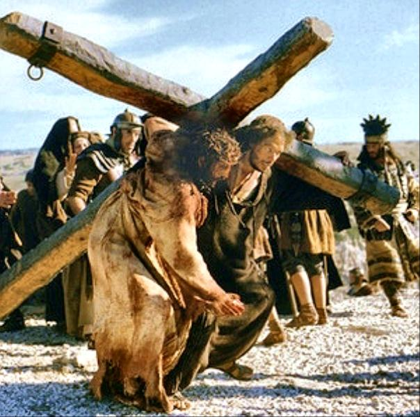 Passion of the Christ Carrying Cross Docu