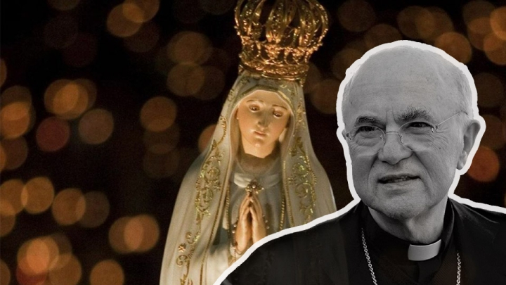 ARCHBISHOP VIGANÒ: An Urgent May 13th Appeal to the Mother ofGod