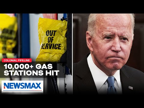 Bidens and Democrats anti oil policies left many drivers without gas, Democrats push electric vehicles during gas crisis