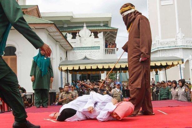 muslim woman punished