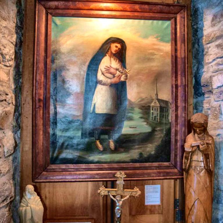 Saint Kateri Shrine sm print