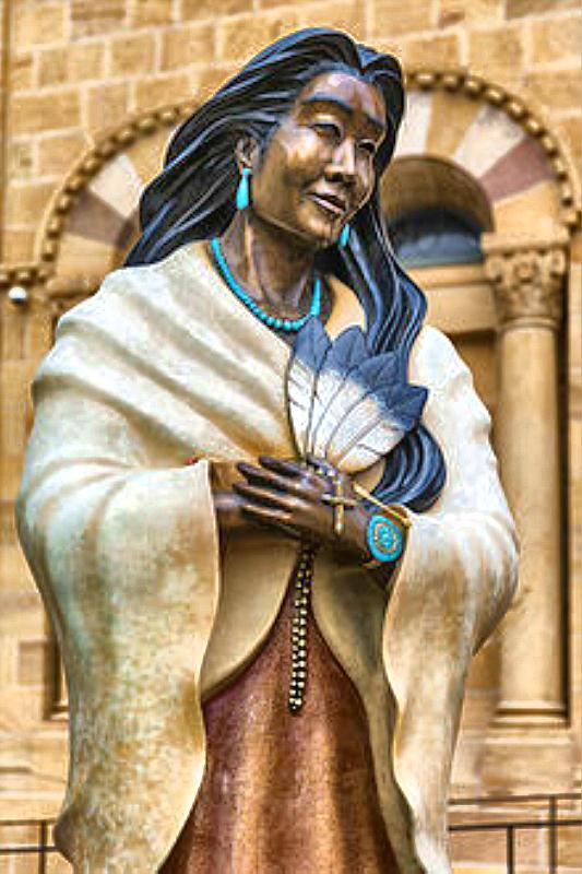 Saint Kateri statue docu