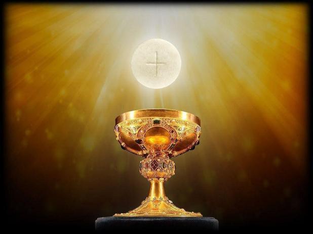 Holy Eucharist sm print