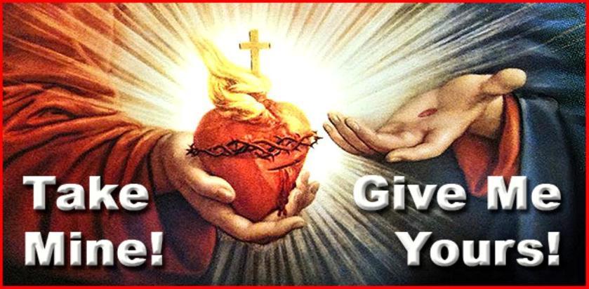 Jesus take my heart sm print