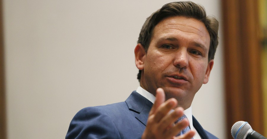 VIDEO DeSantis Tells Christian Group: 'Stand for What's Right, Put on the Full Armor ofGod'