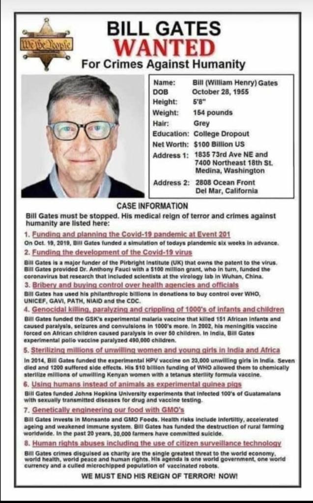 Gates Foundation Will Spend $1.4 Billion Pushing Population ControlWorldwide