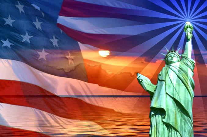 Liberty Flag Sm Print