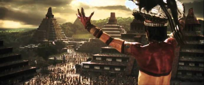 Apocalypto false god pagan leader