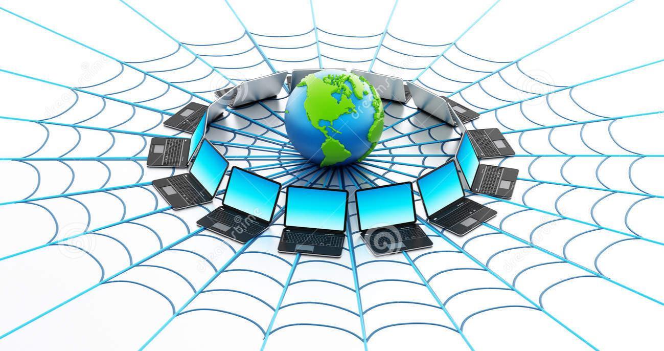 Cyber Spider Web
