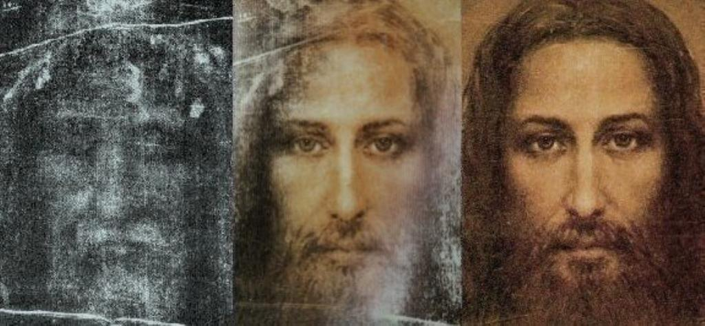 Face of Jesus 3 sm print