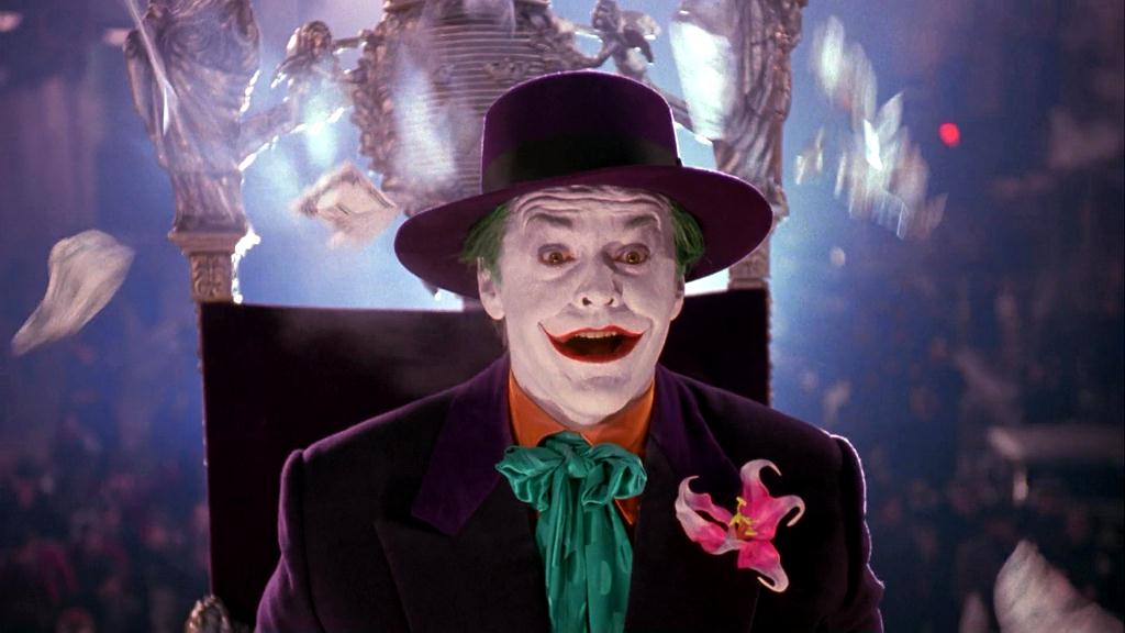 Jack Nicolson Joker sm printt