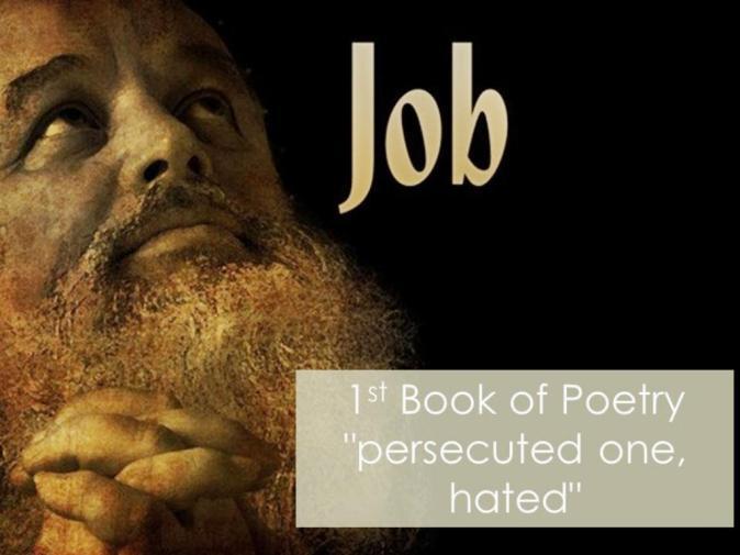 Job Book Praying sm print