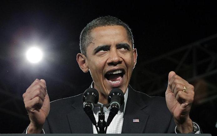 Obama demon look docu
