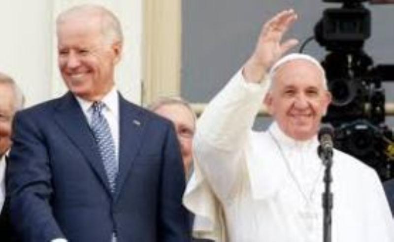 Bergoglio and devil Biden docu