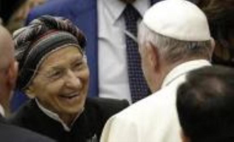 Bergoglio with evil abortionist docu