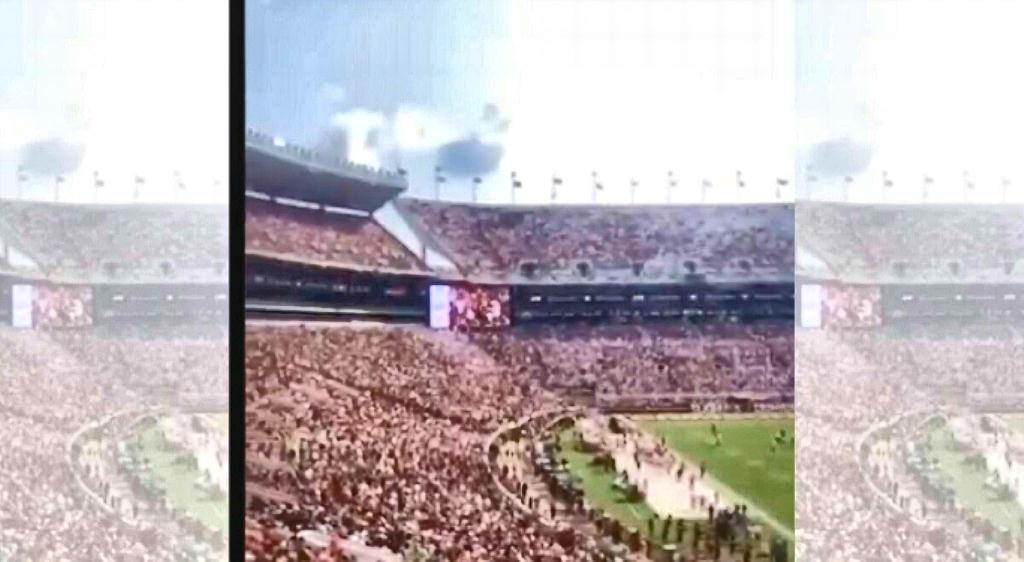 """[VIDEO] Entire Stadium Jam-Packed With College Football Fans Chant """"F JoeBiden"""""""