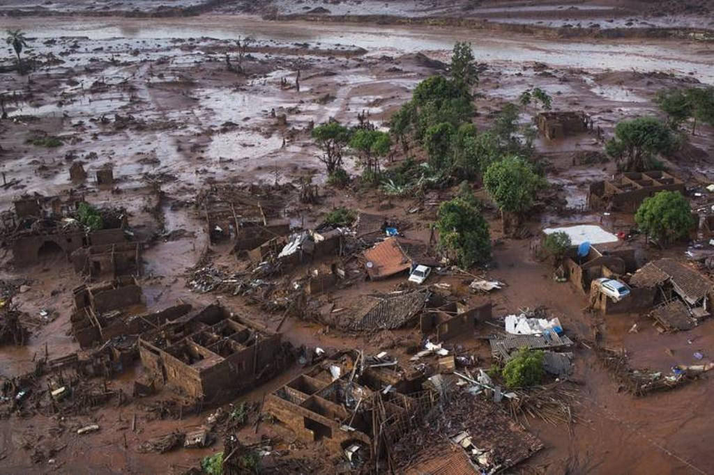 Brazil slag dam break villages and towns wipedout sm print