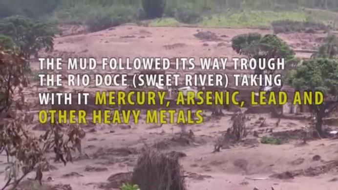 Brazil slag dam bursts