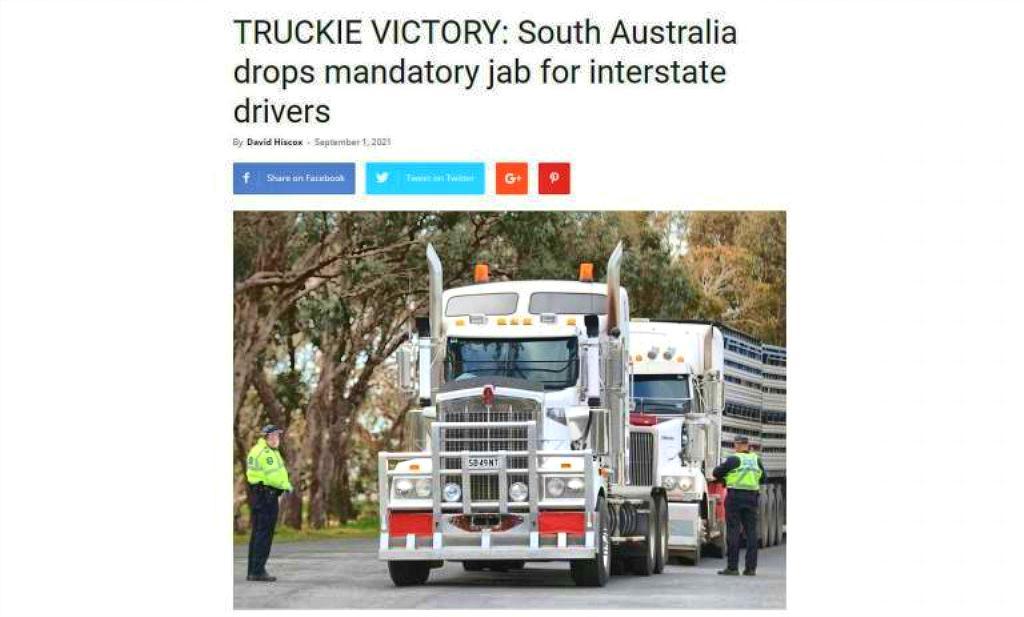 Anti-Tyrany Protests Growing Worldwide, Truckie Victory InAustralia