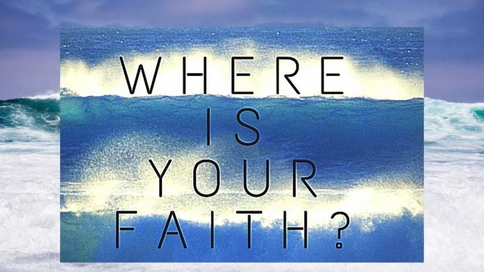 where is your faith