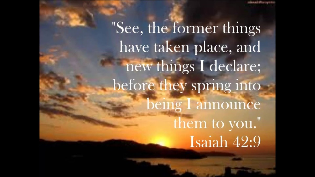 Life is a journey of discovery. New things are being revealed to us by theLord.